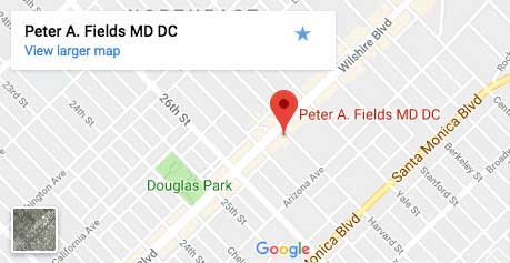Dr. Peter Fields MD DC Map